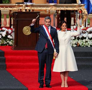 Presidente do Paraguai, Mario Abdo Benítez, toma posse em 15 de agosto de 2018