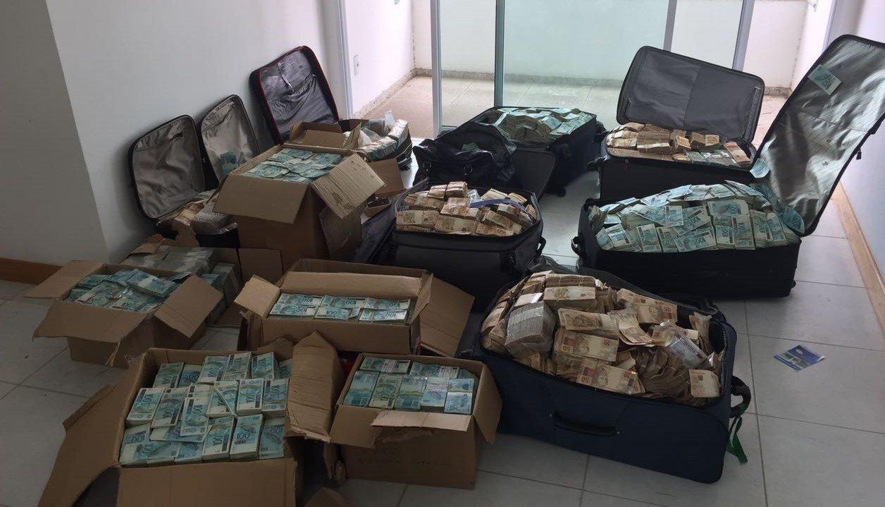 Mala de dinheiro em bunker de Geddel