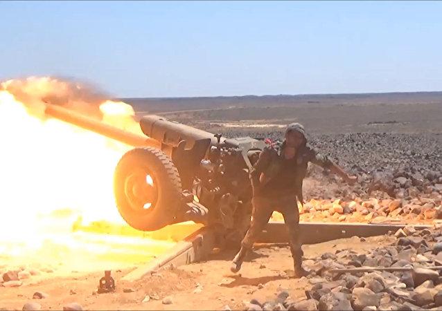 Exército sírio elimina terroristas em Tulul al-Safa