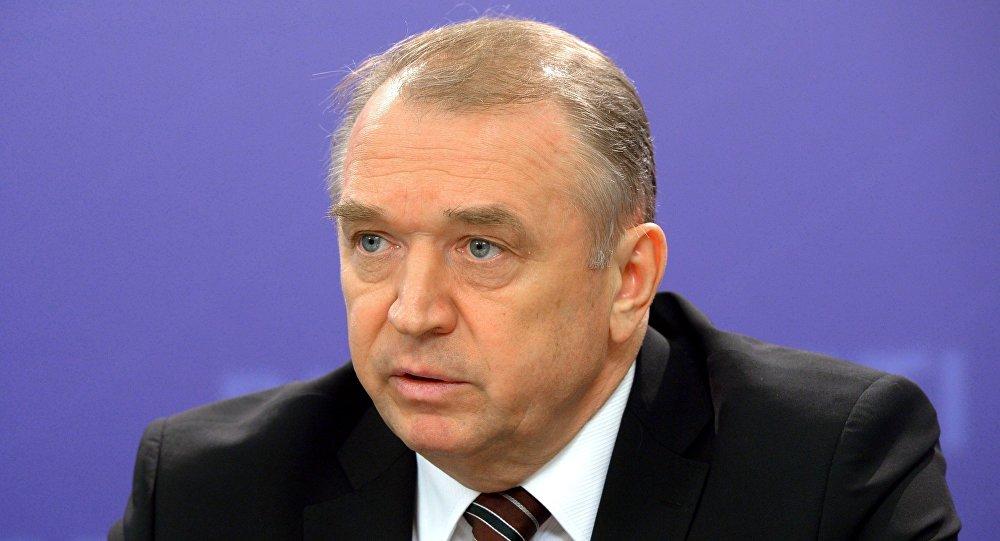 Presidente da câmara de comércio e indústria Sergei Katyrin