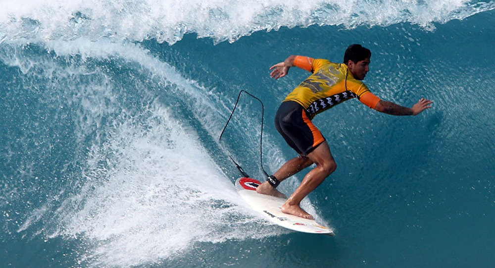 Gabriel Medina conquista o título mundial de surfe
