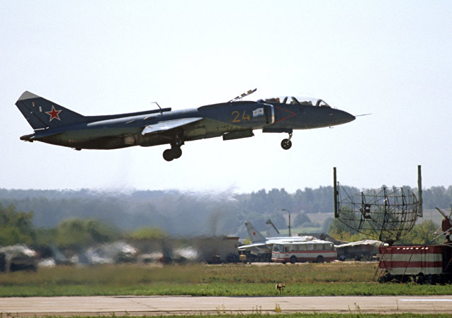 Caça Yak-141 de decolagem vertical