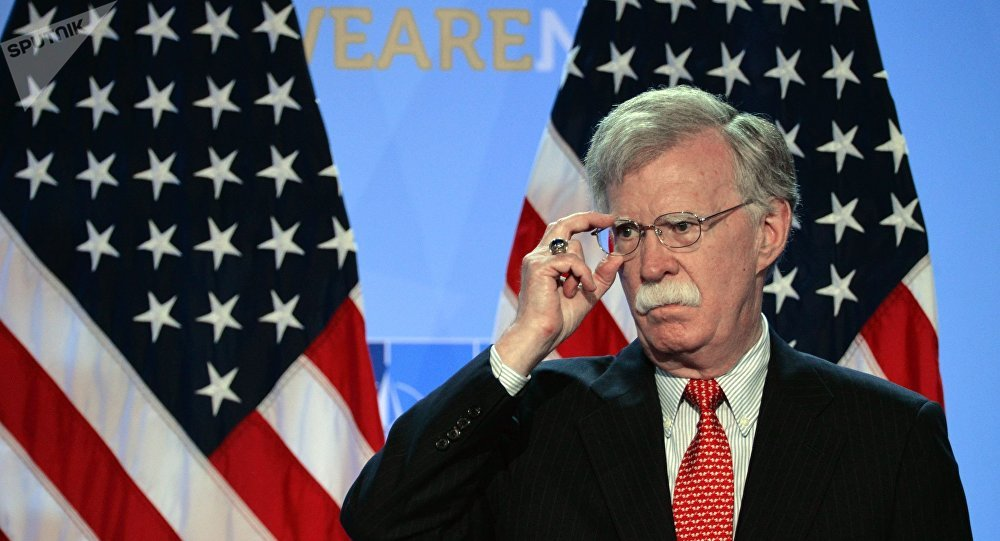 Conselheiro de Segurança Nacional dos EUA, John Bolton