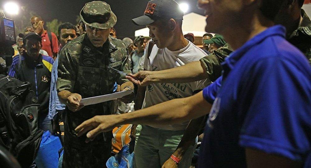 Exército cadastra refugiados venezuelanos para interiorização no Brasil