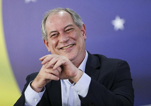 Candidato à presidência nas eleições 2018, Ciro Gomes (PDT)