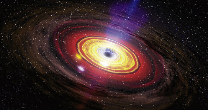 Buraco negro (imagem  ilustrativa)