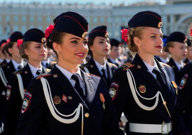 Ensaio principal da 73ª Parada da Vitória em São Petersburgo
