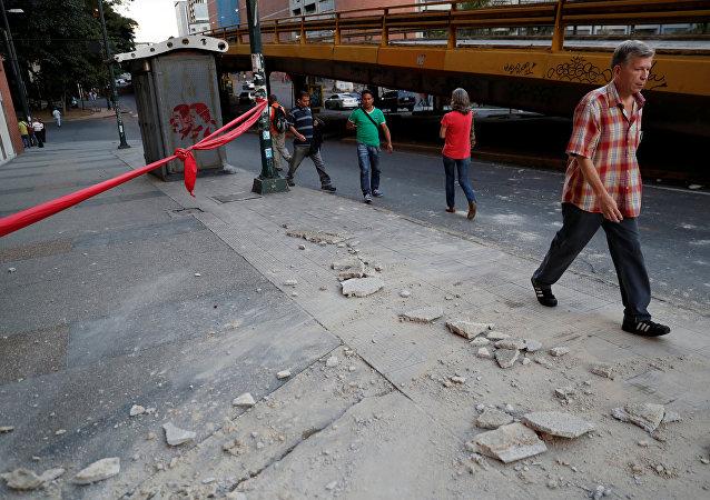 Consequências do terremoto em Caracas