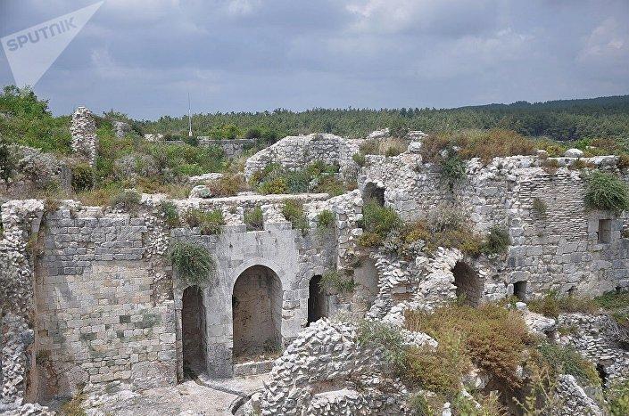 Fortaleza de Saladino, perto de Latakia