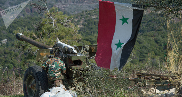 Exército sírio na província de Idlib