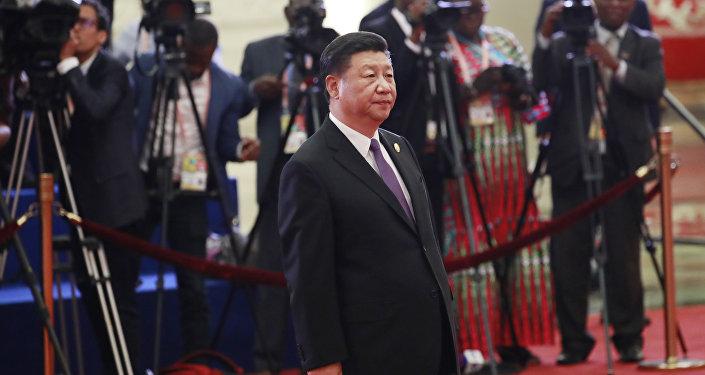 Presidente chinês, Xi Jinping, participa da 5ª edição do Fórum de Cooperação China-África (FOCAC), em 3 de setembro de 2018, em Pequim