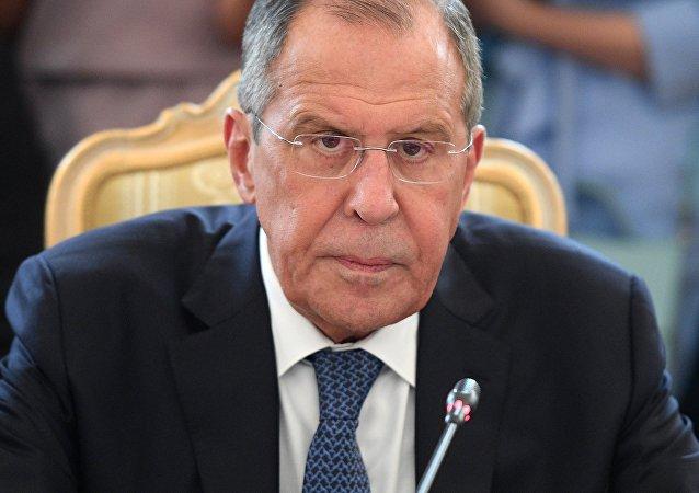 Ministro das Relações Exteriores da Rússia, Sergei Lavrov (imagem de arquivo)