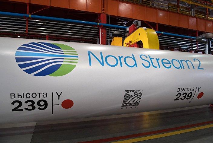 Construção do projeto de gás Nord Stream 2