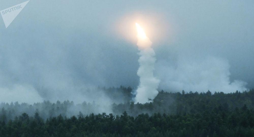 Exercícios de tiro das tropas de defesa antiaérea no âmbito das manobras Vostok 2018 no polígono de Telemba, na região russa de Buriátia