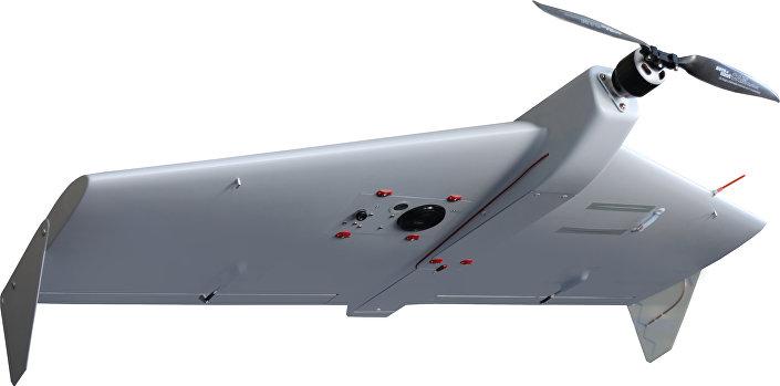 Veículo aéreo não tripulado ZALA 421-10 capaz de pousar na superfície da água