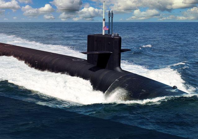 Submarino nuclear norte-americano da classe Columbia