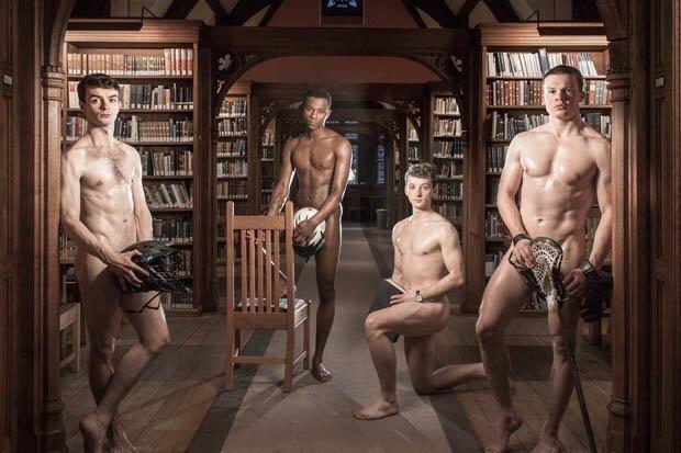 Edição de 2019 do calendário com estudantes nus de Cambridge