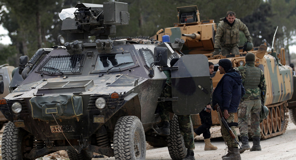 Forças turcas na Síria