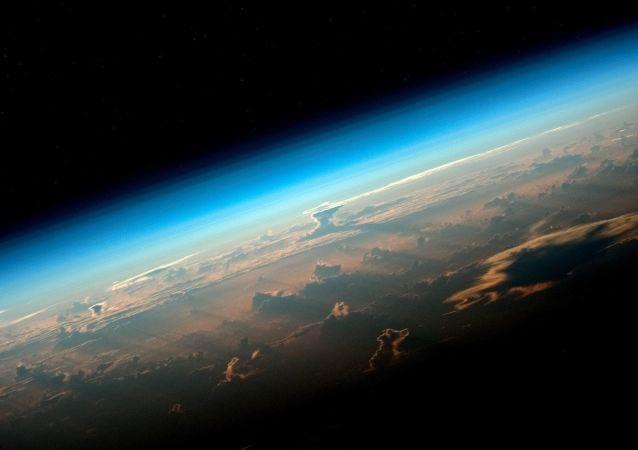 Vista da Terra desde o espaço (imagem ilustrativa)