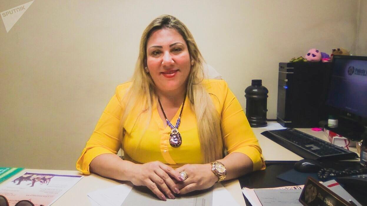 Débora Rodrigues, titular da Delegacia de Atendimento à Mulher (Deam) do Centro do Rio de Janeiro