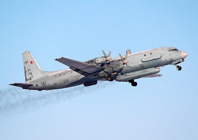 Ilyushin Il-20, um dos aviões russos escoltados por caças da OTAN