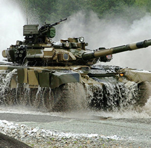 Tanque russo T-90S (foto de arquivo)