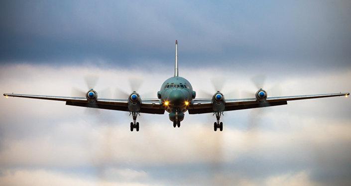 Avião russo Il-20 (foto de arquivo)