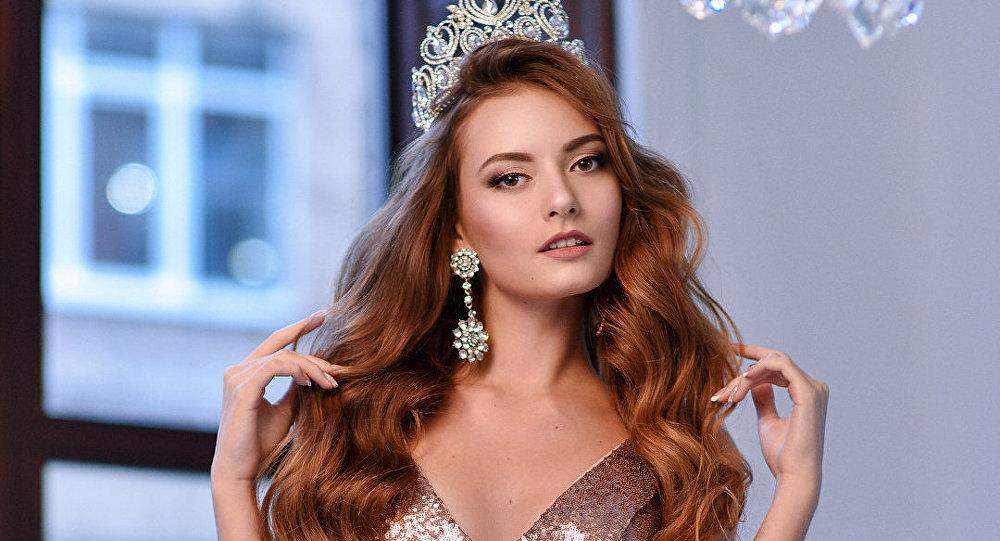 Yana Chetverikova, ganhadora do Miss Crimeia 2018