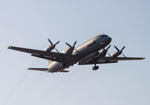 Avião russo Il-20 ( foto de arquivo)