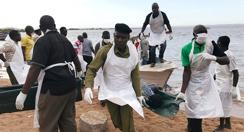 Naufragio del ferri MV Nyerere en Tanzania
