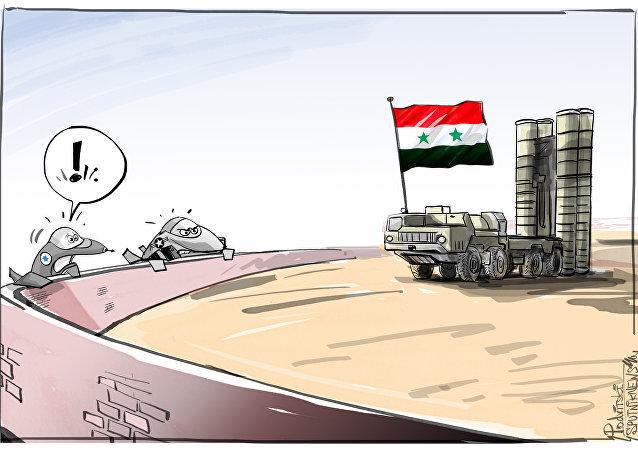 Síria com S-300 russos deixará caças israelenses só espiando