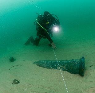 Mergulhadores descobrem navio português