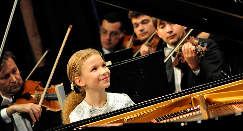 Pianista russa Varvara Kutuzova
