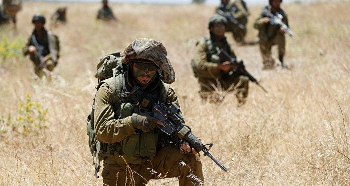 Militares israelenses na Síria