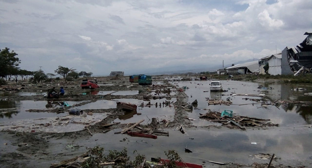 Consequências do terremoto e tsunami em Palu, na Indonésia