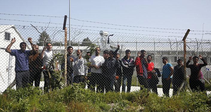 Refugiados na Grécia (arquivo)