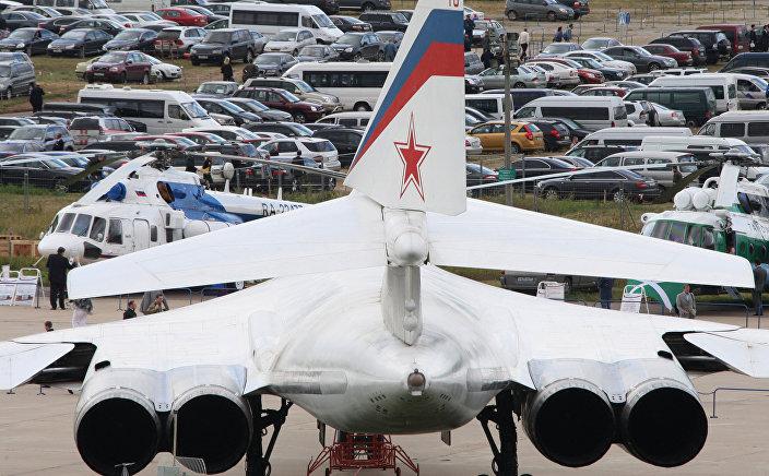 Motores do bombardeiro estratégico russo Tu-160