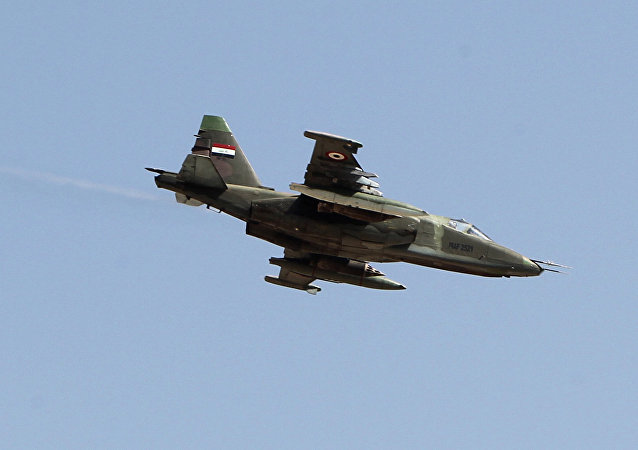 Caça Su-25 iraquiano