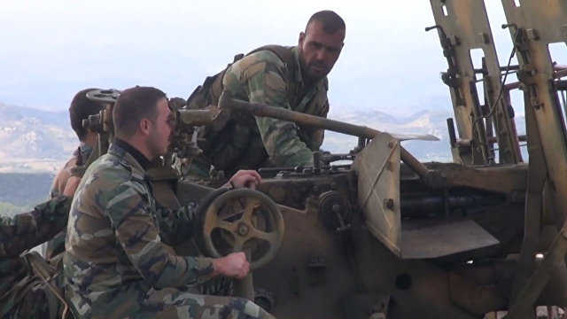 Resultado de imagem para Exército sírio combate terroristas no leste da província de Latakia