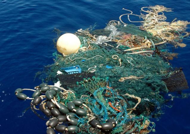 Lixo no Pacífico