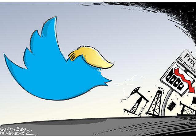 Mercado não consegue resistir aos tweets de Trump