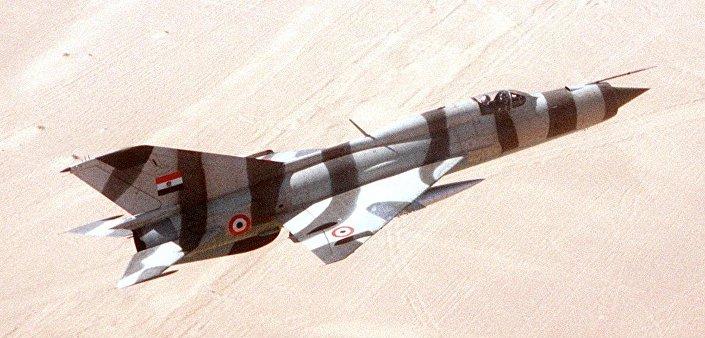 MiG-21 da Força Aérea do Egito