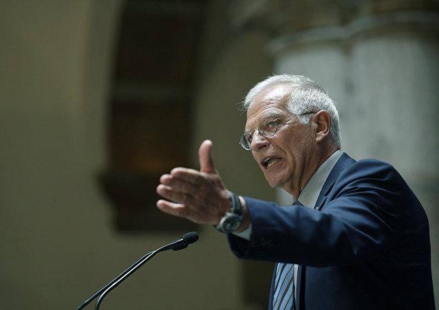 Josep Borrell, ministro espanhol das Relações Exteriores