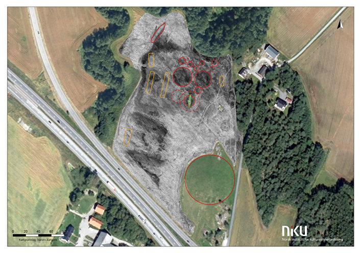 Túmulos vikings descobertos no sudeste da Noruega