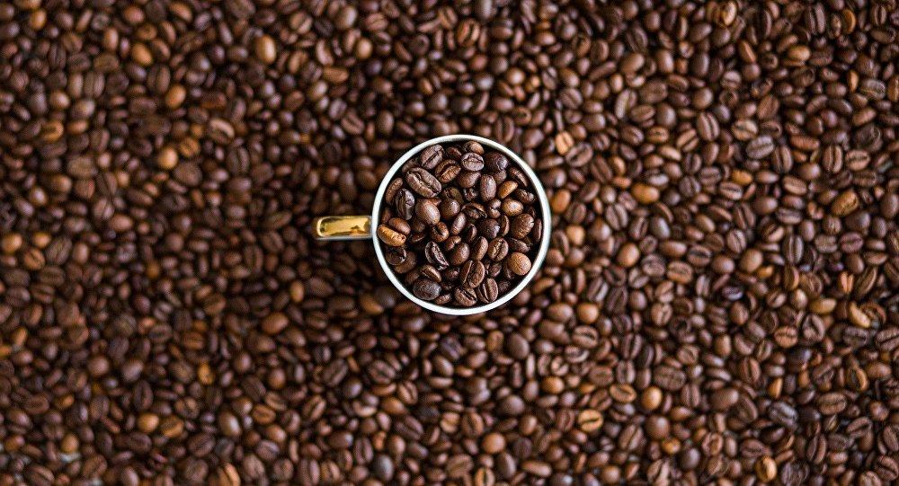 Grãos de café (foto de arquivo)