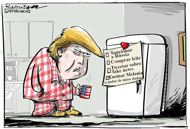 Os 4 lembretes que Trump não vive sem