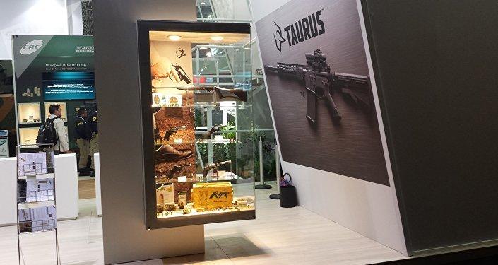 Armas de pequeno porte da empresa brasileira Taurus
