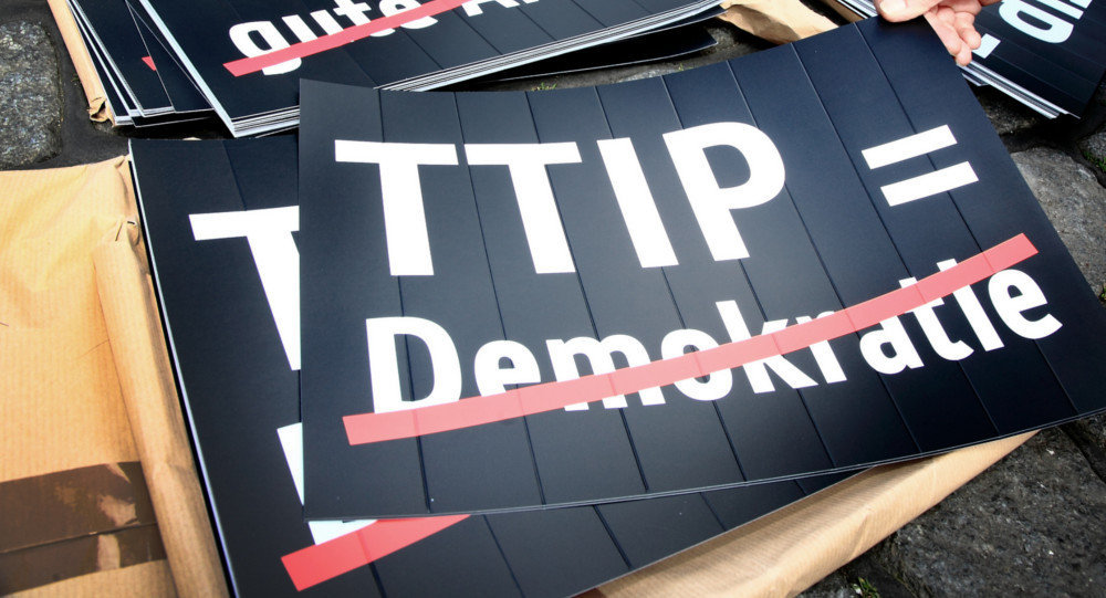 Anti-TTIP cartaz