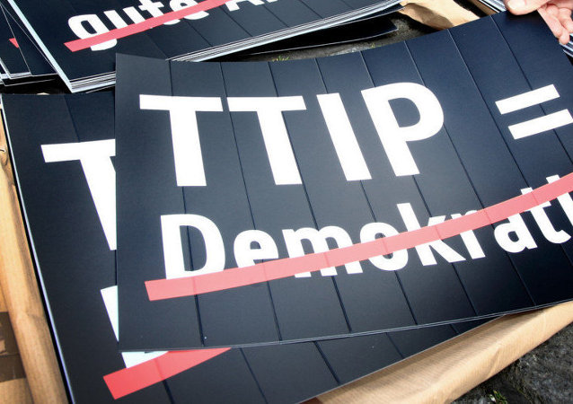 Anti-TTIP cartaz