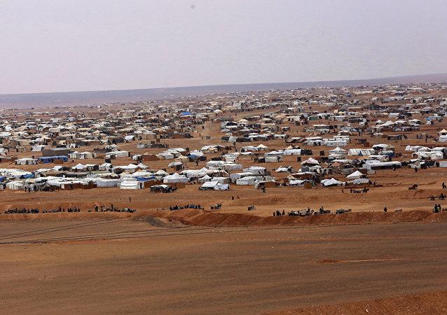 Acampamento de refugiados de Rukban, no sul da Síria (arquivo)